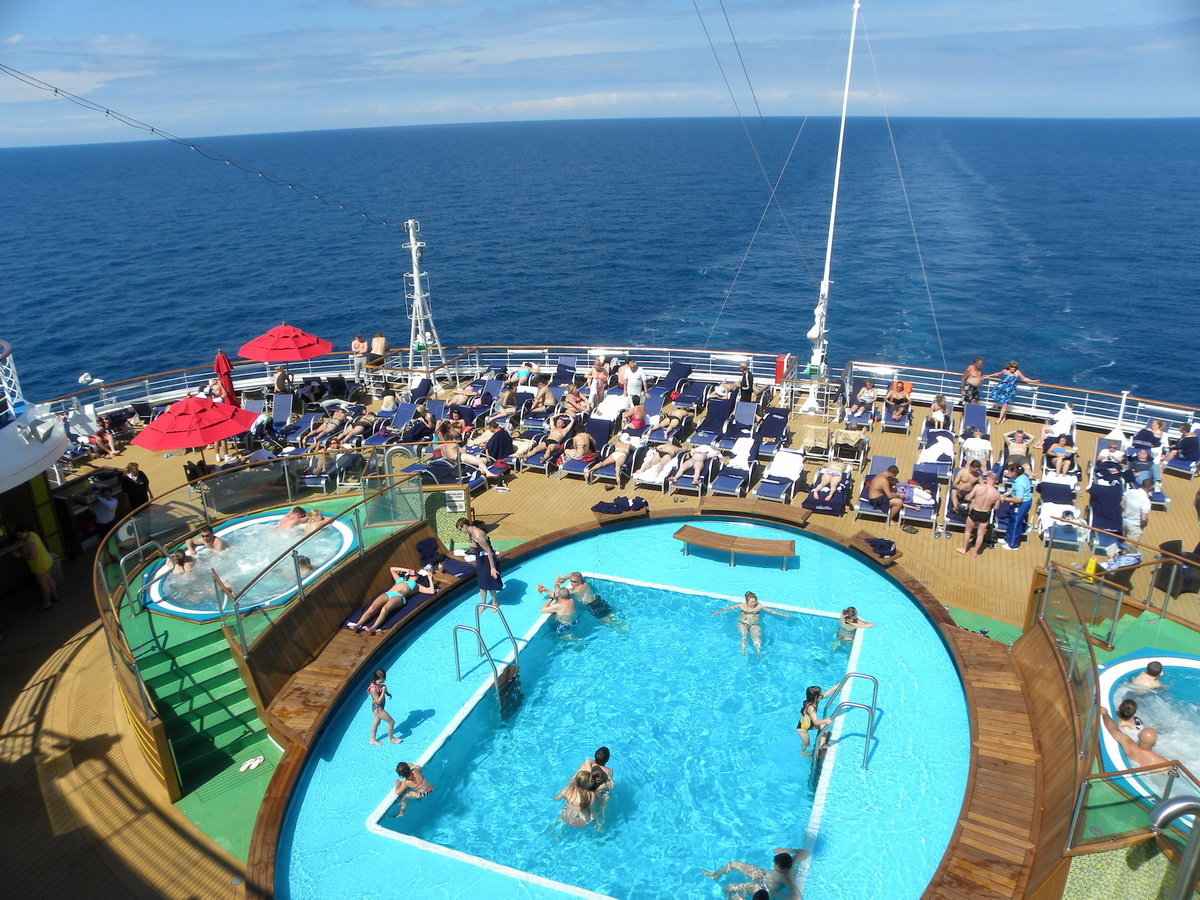Carnival Magic Pool